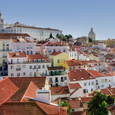 Lisbona, sei Poesia.